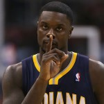 LANCE STEPHENSON SHOULD TRY NOT TALKING