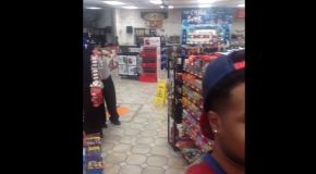 Convenience Store Clerk Follows Black Customer From Aisle To Aisle