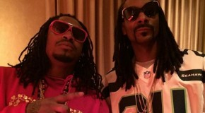 Marshawn Lynch and Snoop After the Super Bowl