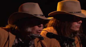 Neil Young Sings With Fallon as Neil Young