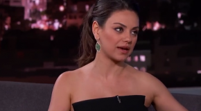 Mila Kunis is on Tinder!