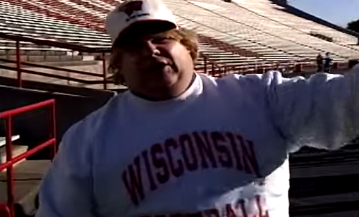 Chris Farley for University of Wisconsin