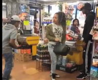 Kid Starts Fight By Slapping a Girls Ass of the DAy