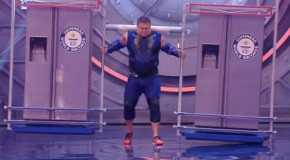 The Manliest Man Carrying Two Fridges 20 Meters! A New World Record!