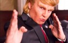 Johnny Depp Stars as Donald Trump's Art of the Day