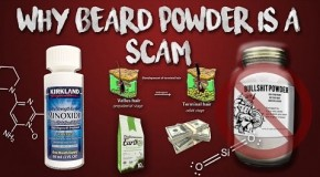 Beard Powder: Why it's a scam and why you DON'T need it.