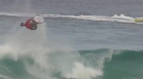 The First Ever Backflip in a Surf Competition