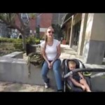 Anti-Trump protesters harass young mother and child, father intervenes