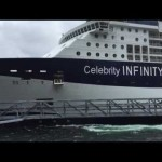 Cruise ship Celebrity Infinity Slams Into Dock In Ketchikan Alaska