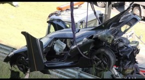 Koenigsegg Agera One:1 Crash