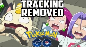 Pokemon Go Tracking Removed