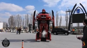 A Real Life Working BMW Transformer