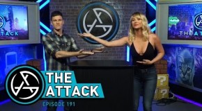 "Some hosts from the now defunct Attack of the Show reunited for the first time since 2012 on a ""new"" ""show"" 'the Attack'"