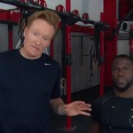 Conan And Kevin Hart Workout
