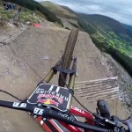 Insane Downhill POV Ride With Dan Atherton