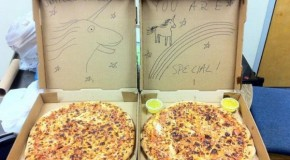 Special Pizza Delivery Instructions Hilariously Fulfilled