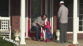 Trick Or Treating With A Fake Kid