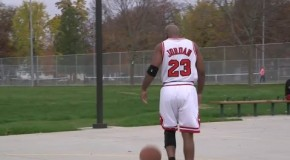 Michael Jordan Surprises His Biggest Fan