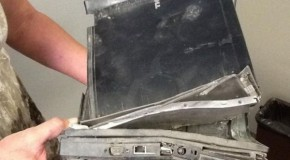 These Computers Have Seen Better Days