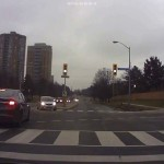 Dashcam Accident At Intersection
