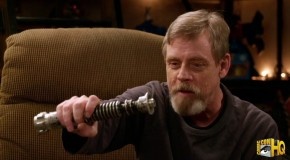 Mark Hamill Reunited With His Lightsaber
