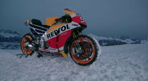 MotoGP Snow Day