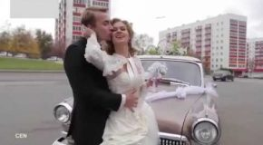 Driver Ruins Her Wedding Dress And She Gets Furious