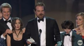 Stranger Things Sag Award Acceptance Speech