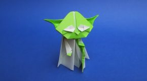 Make Your Own Cool Origami Yoda