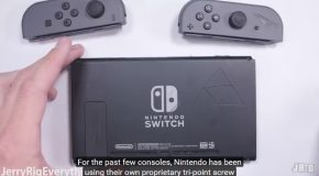 Nintendo Switch Console Taken Apart