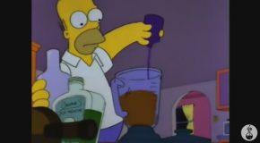 Recreating Cocktails From The Simpsons