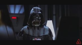 Darth Vader Forces Everyone To Listen To His Bad Jokes And Puns In A Star Wars Parody