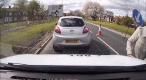 Dashcam UK Jarrow Audi Road Rage Claims I've Run Her Over!!