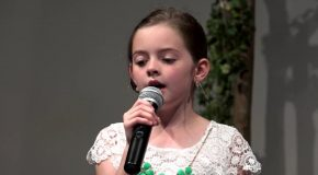 Girl Sings 'Hallelujah' With Lyrics That Tell The Easter Story