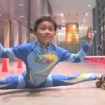 8-Year-Old Indian Boy Sets New Distance Record For Limbo Skating Under Bars