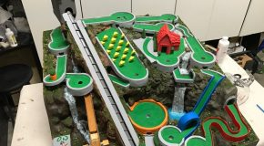 An Amazing Mini Golf Themed Marble Machine
