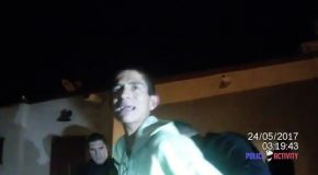 Burglary Suspect Cries For His Mommy When Caught