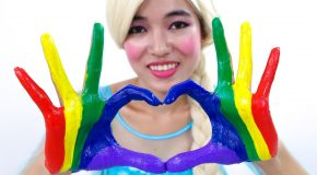 Colors Body Paint For Children, Toddler And Baby Finger Family Song