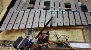 Crazy Frog – Axel-F Performed By Robot Glockenspiel And Hacked Hard Drives