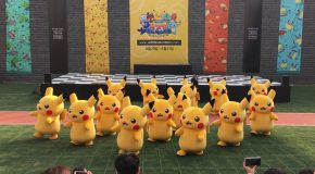 Dancing Pikachu Mascot Gets Yanked Off Stage