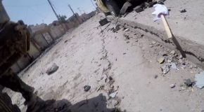 Iraqi Journalist's GoPro Deflects A Sniper's Bullet