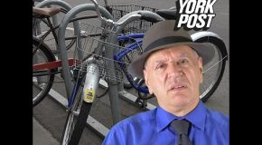 This Dude Hates NYC Bike Riders