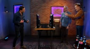 Conan gaming with Will Arnett is rather funny