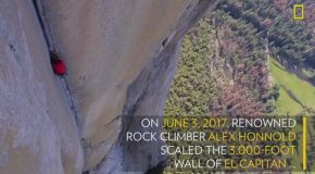 First Video Of Most Dangerous Rope-Free Climb Ever (Alex Honnold)