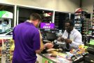 Awesome Gas Station Cashier Has Dance-Off With Customer