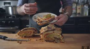 Binging With Babish Makes The Super-Sized Entree From SNL's 'Taco Town'