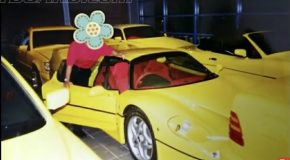 Footage Of The Sultan of Brunei's Insane Car Collection