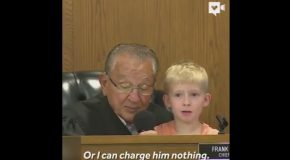 Judge Brings Allows A Little Boy to Choose His Father's Punishment