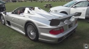 Powersliding The Mercedes CLK GTR No. 3