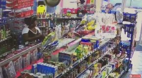 Cashier Charges Shoplifter For The Food In Her Purse